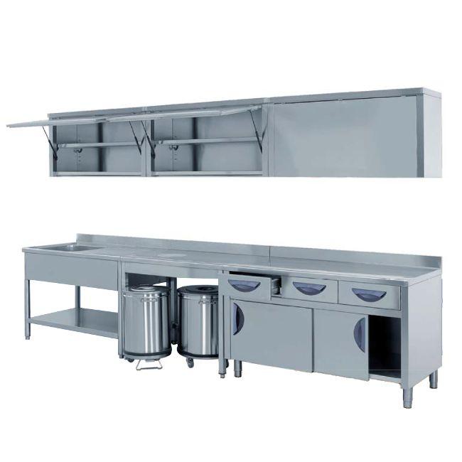 Amnifrigor impianti frigoriferi arredo acciaio inox for Arredo inox